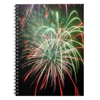 Caderno Fogos-de-artifício