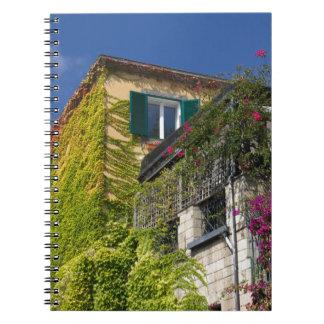 Caderno Folhas coloridas na casa