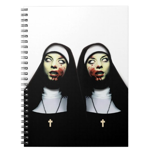 Caderno Freiras do horror