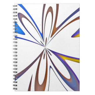 Caderno fundo da textura e do abstrato