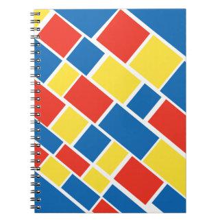 Caderno Funky dos quadrados