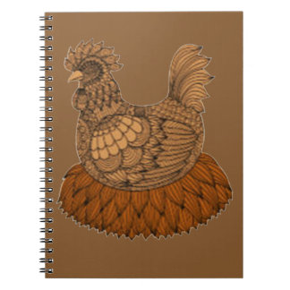 Caderno Galinha