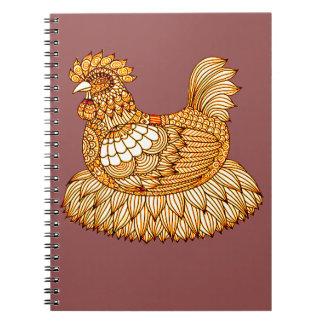 Caderno Galinha 2