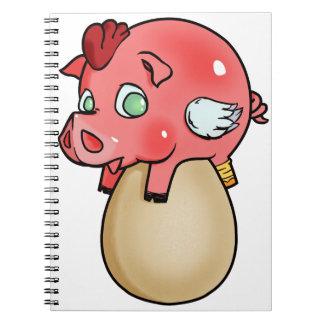 Caderno Galinha, porco, Cheeken-Peeg!
