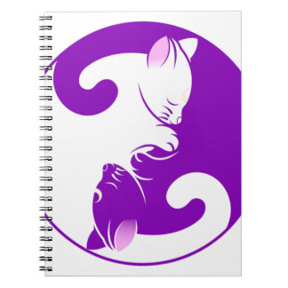Caderno Gatinho de Yin Yang