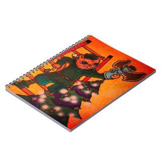 Caderno Gato do duende do Natal