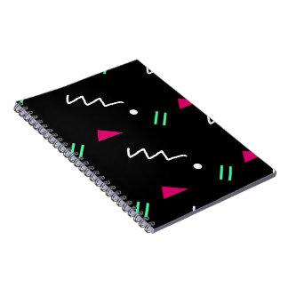 Caderno geométrico da escola secundária