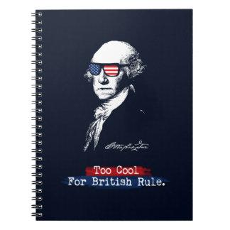 Caderno George Washington. Esfrie demasiado para a regra
