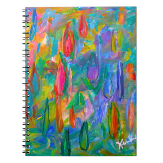 Caderno Gotas da cor
