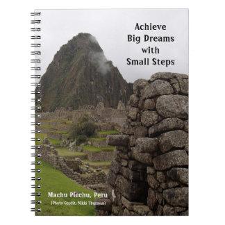 Caderno grande dos sonhos