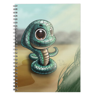Caderno Grande-Eyed da foto de Cutie da cobra (80
