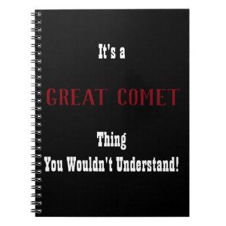 Caderno Grande jornal do cometa