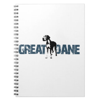 Caderno Great dane