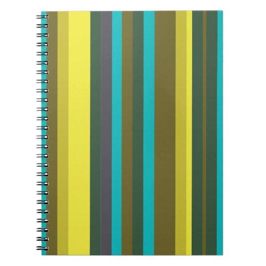 Caderno Green_stripes