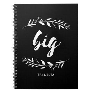 Caderno Grinalda grande de Dleta | do delta do delta