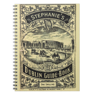 Caderno Guia de Dublin personalizado