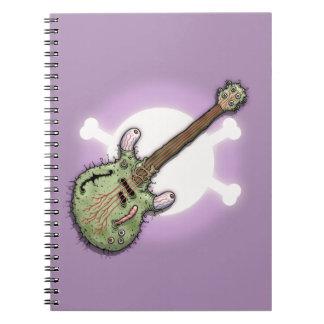 Caderno Guitarra de Ecclectric