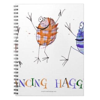 Caderno haggis da dança