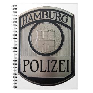 Caderno Hamburgo Polizei