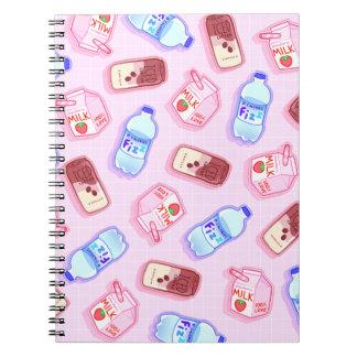 Caderno hidratado