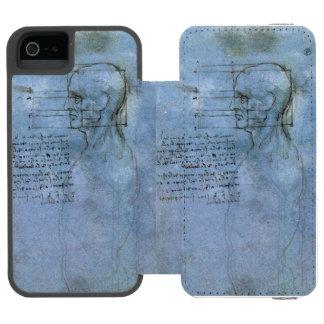 Caderno humano da anatomia de da Vinci