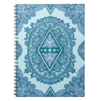 Caderno Idade do despertar, bohemian, newage