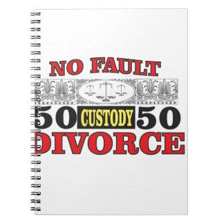 Caderno igualdade 50 do divórcio 50 da no-falha