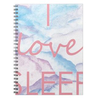 Caderno Ilovesleep