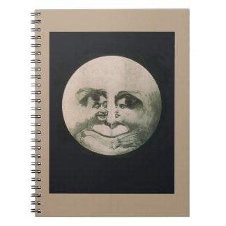 Caderno Ilusão óptica da lua