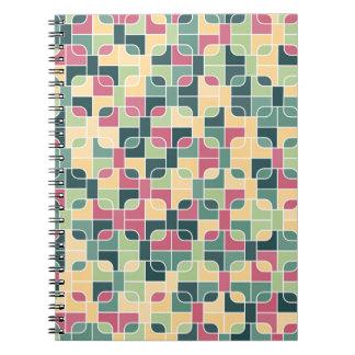 Caderno imagem abstrata