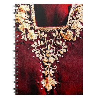Caderno Indiano Salwar Kameez