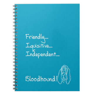 Caderno Inquisitive Bloodhound
