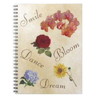 Caderno inspirado - aumente acima