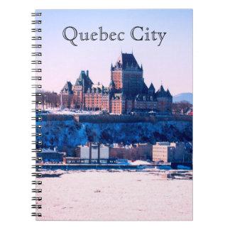 Caderno Inverno   Cidade de Quebec