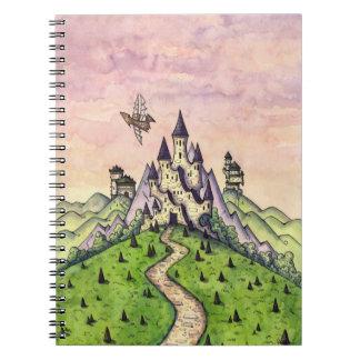 Caderno irreal da propriedade