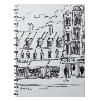 Caderno J.A. Mercearia | Canadá de Moisan