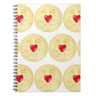 Caderno Jammy do biscoito de Dodger