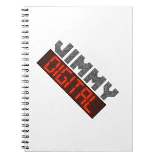 Caderno Jimmy Digital