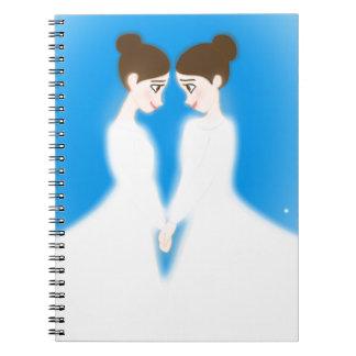 Caderno Jocelyn e jasmim