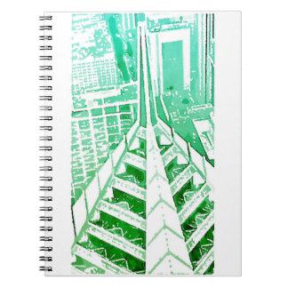 Caderno Jornal do arranha-céus de Chicago