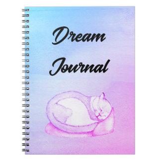 Caderno Jornal ideal do gatinho