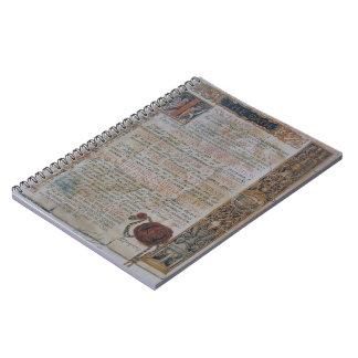 Caderno Juramento de Hippocrates