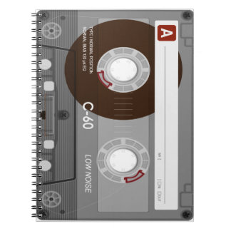 Caderno legal de CassetteTape
