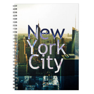 Caderno Lembrança da Nova Iorque