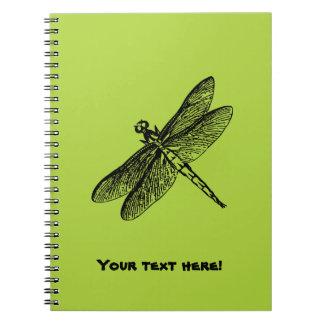 Caderno Libélula
