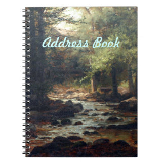 Caderno Lista de endereços