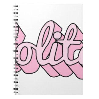 Caderno lolita