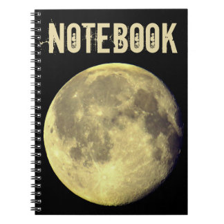 Caderno Lua cheia feita sob encomenda