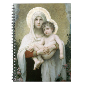 Caderno Madonna dos rosas