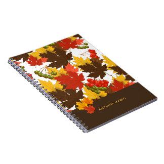Caderno Mágica do outono
